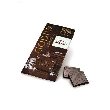Godiva Dark Chocolate Seasalt Tablet 100g