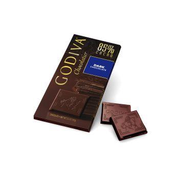 Godiva Dark Chocolate 85% Santo Domingo Tablet 100g