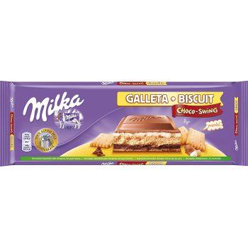 Milka Choco Swing Biscuit Tablet 300g