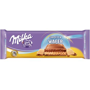 Milka Choco And Wafer Tablet 300g