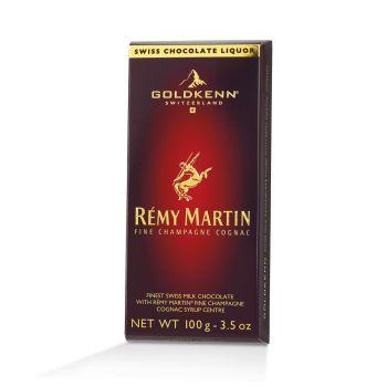 Goldkenn Rémy Martin Finest Swiss Milk Chocolate 100g