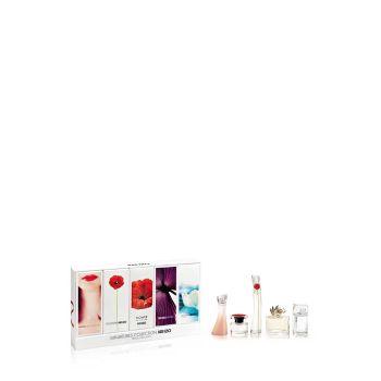 Kenzo 5 Miniature Set With Packaging 2x4ml + 2x5ml + 3.5ml EDP + EDT