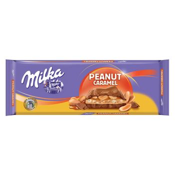 Milka Peanut Caramel Tablet 276g