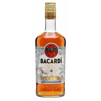 Bacardi Añejo Cuatro 4 Yo 1l