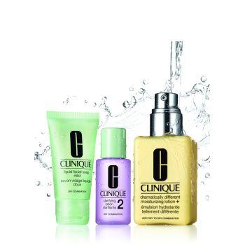 Clinique Great Skin Starts Here Cl I/Ii Set 30ml + 60ml + 200ml