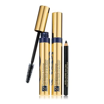 Estée Lauder Sumptuous Extreme Mascara Set Black 2x8ml + 1g