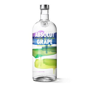 Absolut Blue Gräpevine Vodka 1l