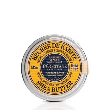 L'Occitane Organic 100% Shea Butter 150ml
