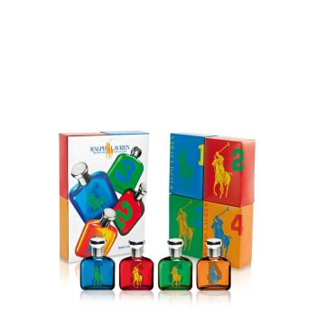 Ralph Lauren Big Pony Men Miniature Set 4x15ml EDTS