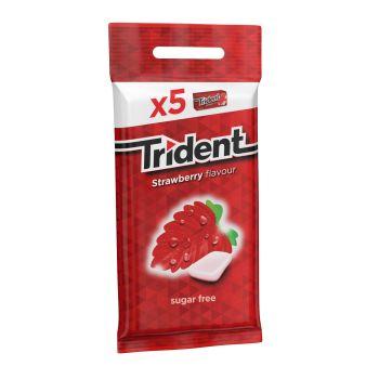 Trident Fresh Strawberry 5x14.5g