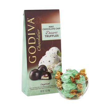 Godiva Mint Choc Chips Truffles 206g