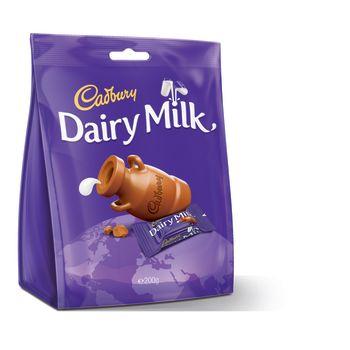 Cadbury Dairy Milk Chunks Bag 200g