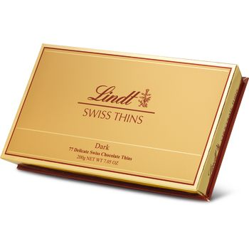 Lindt Swiss Thins Dark 200g