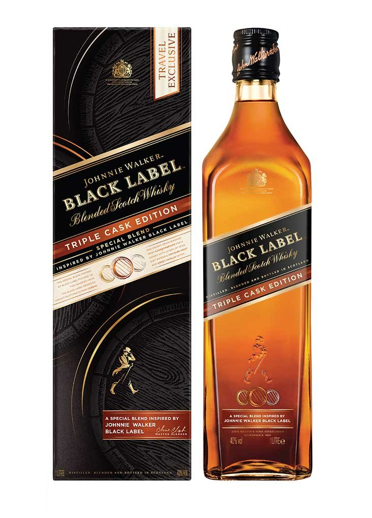 Black Label Price >> Johnnie Walker Black Label Triple Cask Edition 1l