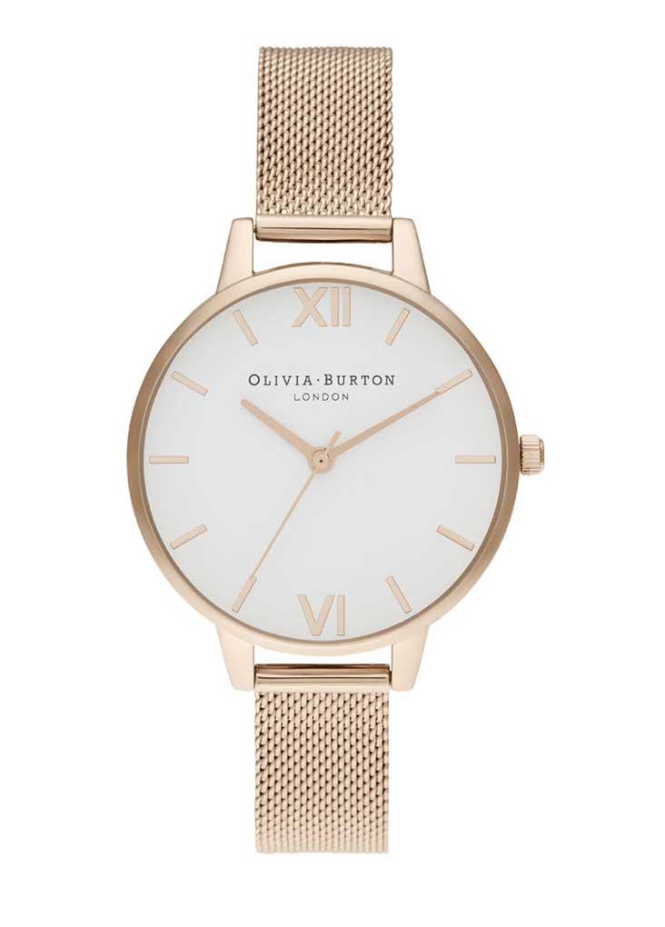 Женские часы Olivia Burton OB16DE09. White Dial