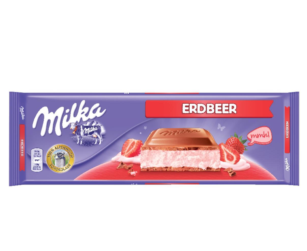 Milka Strawberry Cheese Tablet 300g Duty Free Antalya Airport Shops